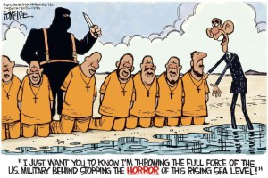 Climate terrorism