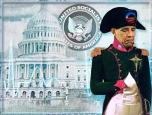 Obams as Napoleon