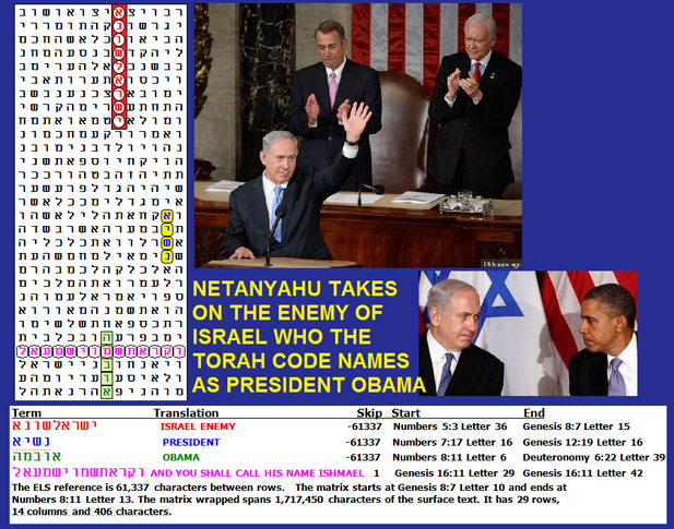 Enemy Obama Torah Code