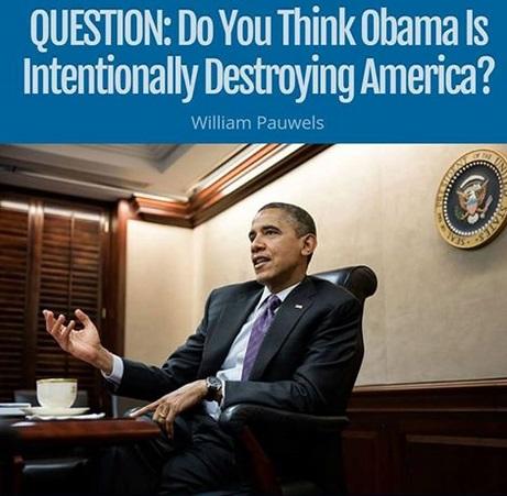 Obama Intentionally