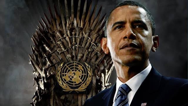 Obama UN grab