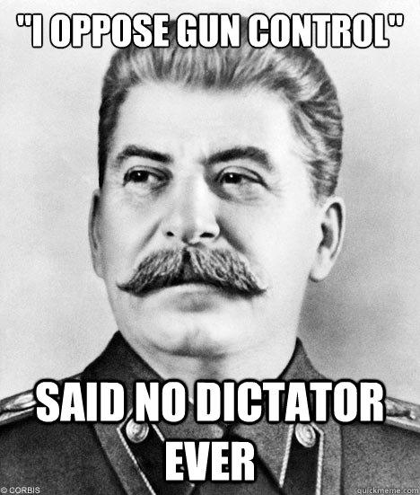 Stalin Likes Gun Control