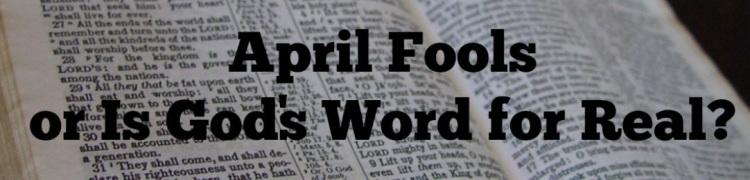April Fools Bible