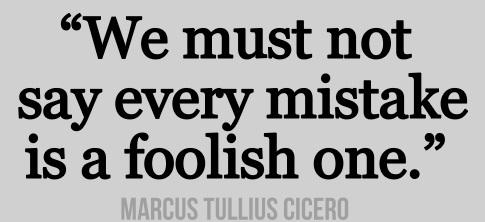 Cicero Foolish