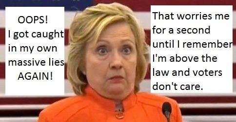 Hillary Lies