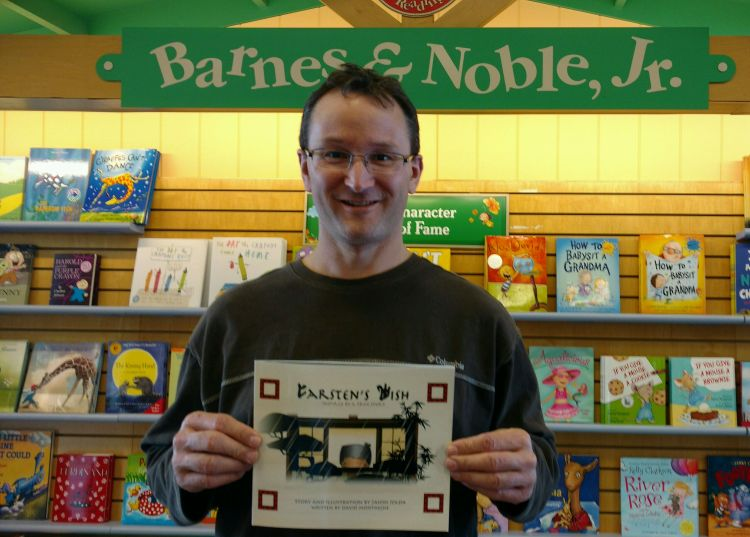 Carsten's Wish at B&N
