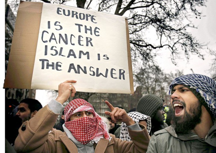 Image result for migrants invasion islam