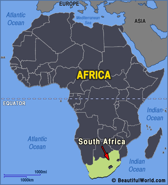 south-africa-africa-map
