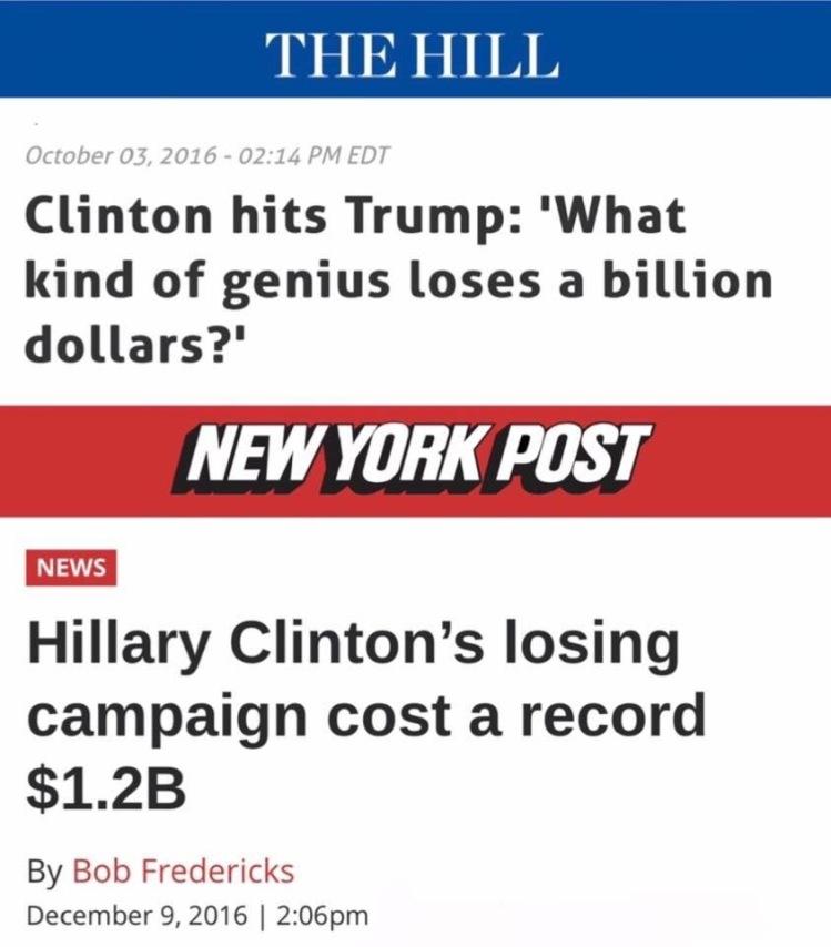 Losing a Billion