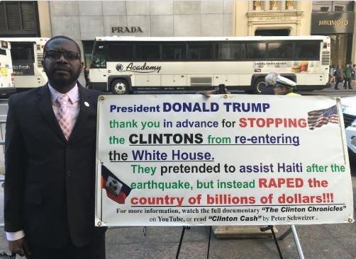 trump-hillary-haiti