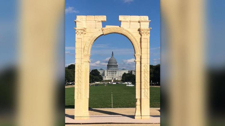 Evil Gateway of Ba'al Re-Created in Washington D.C. Why?