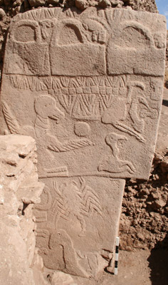 """Gobekli Tepe: Does the """"Vulture Stone"""" Depict a Cataclysm 13,000 years ago,  and ANOTHER Due Approximately NOW? 
